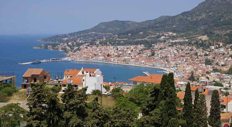 Samos-stad